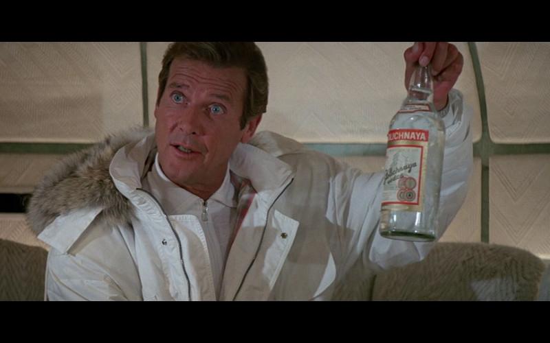 Stolichnaya Vodka in A View to a Kill (1985)