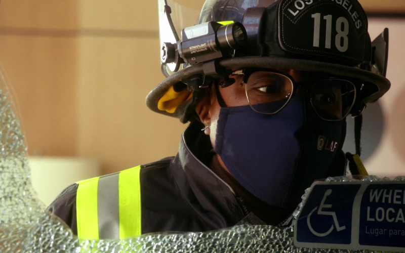 Streamlight Tactical Headlamp in 9-1-1 S04E01 The New Abnormal (2021)