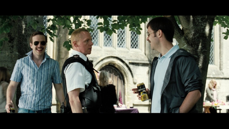 Strongbow Cider of Paddy Considine in Hot Fuzz (2007)