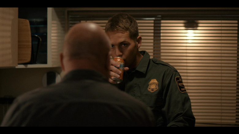 Sunkist Orange Soda Can in Coyote S01E04