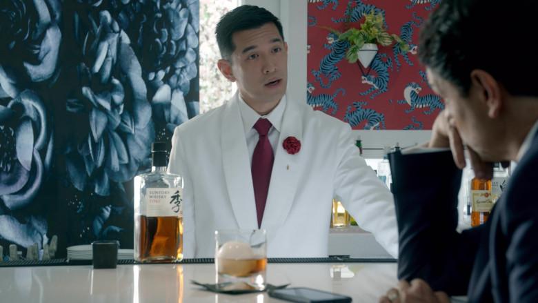 Suntory Whisky Enjoyed by Ralph Macchio as Daniel LaRusso in Cobra Kai S03E04 (2)