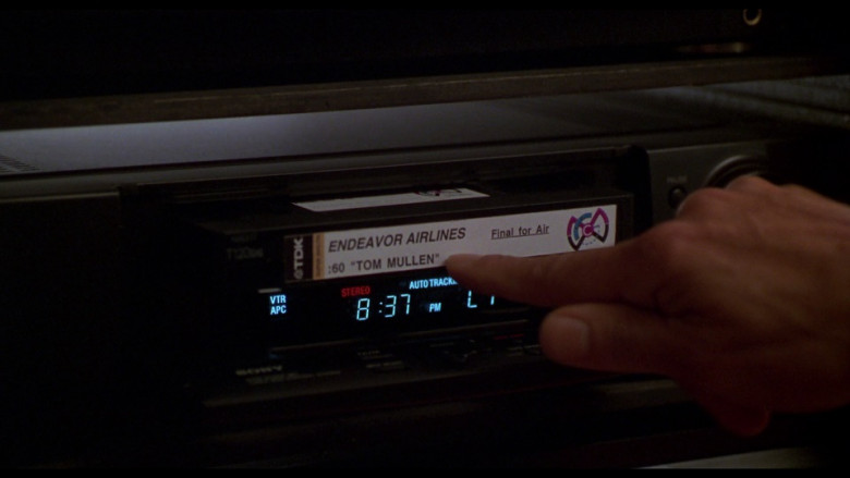 TDK Video Cassette in Ransom (1996)
