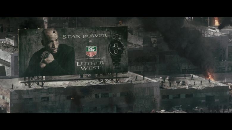 Tag Heuer Men's Watch Billboard in Resident Evil Afterlife (2010)