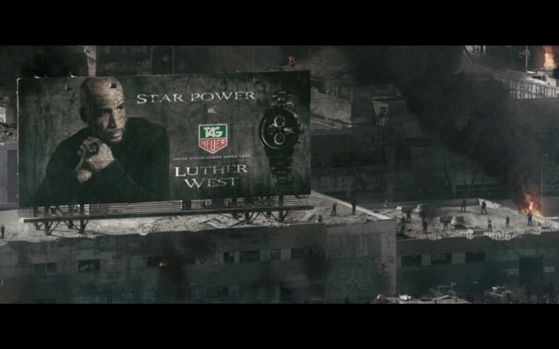 Tag Heuer Men's Watch Billboard in Resident Evil Afterlife (2010)