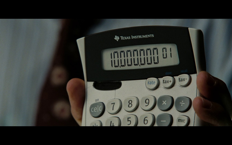 Texas Instruments Calculator in The Taking of Pelham 123 (2009)