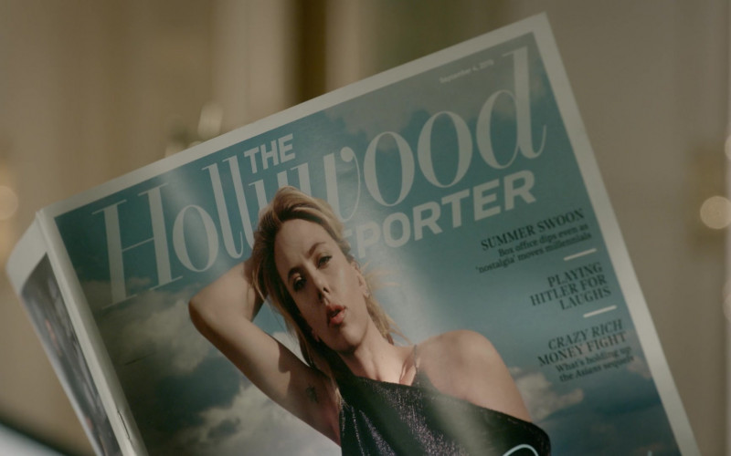 The Hollywood Reporter Magazine in Cobra Kai S03E03 (1)