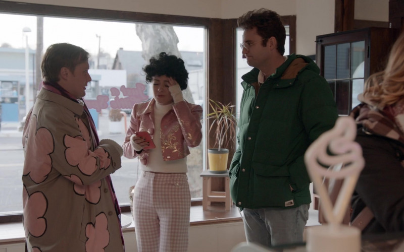 The North Face Jacket Worn by Actor John Reynolds as Drew Gardner in Search Party S04E07
