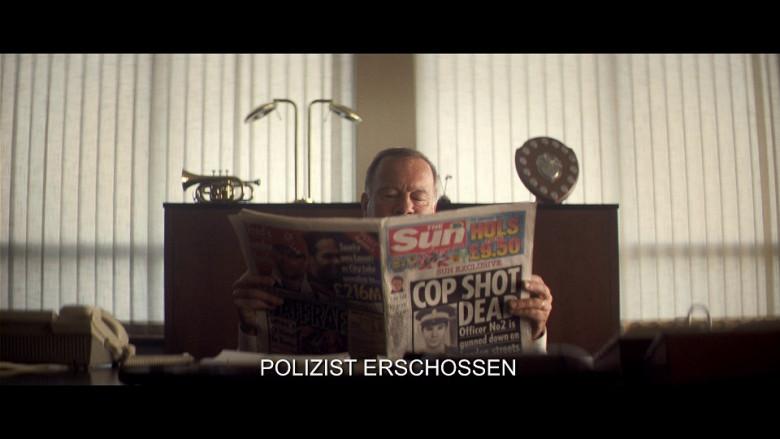The Sun newspaper in Blitz (2011)