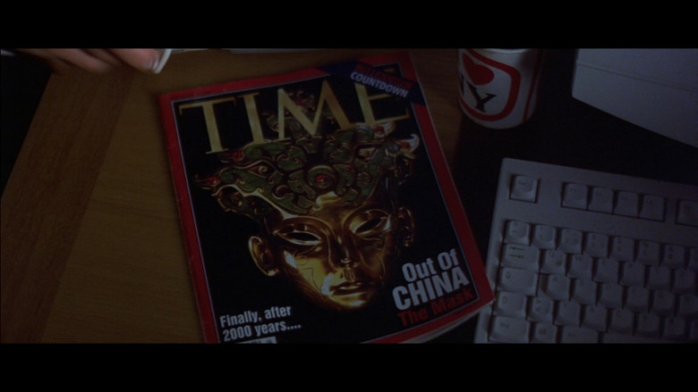 Time Magazine in Entrapment (1999)