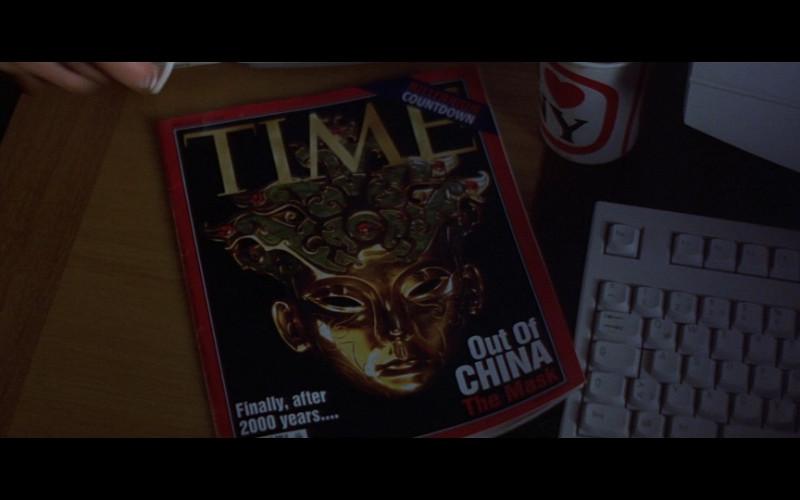 Time Magazine in Entrapment (1999)