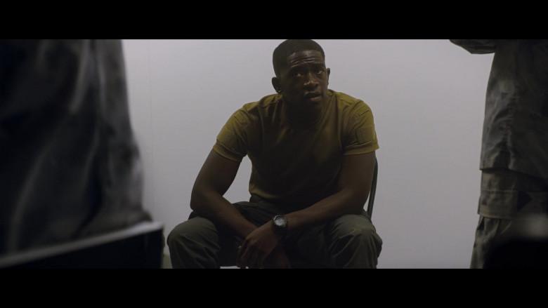 Timex Marathon Men's Watch of Damson Idris as Lt. Thomas Harp in Outside the Wire (3)