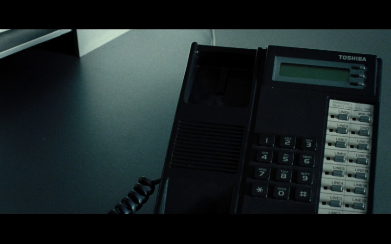 Toshiba telephone in Hot Fuzz (2007)