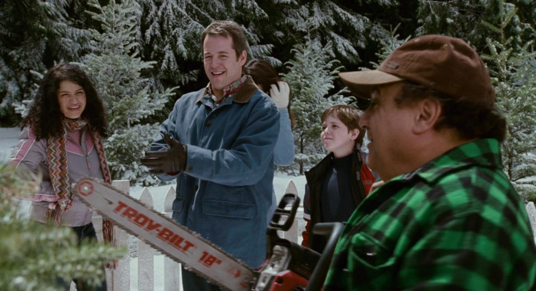 Troy-Bilt ChainSaw of Danny DeVito as Buddy Hall in Deck the Halls