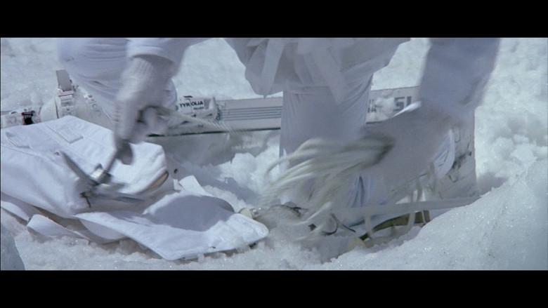Tyrolia ski bindings in A View to a Kill (1985)