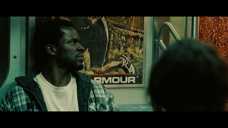 Under Armour Sportswear Poster in The Taking of Pelham 123 (2009)