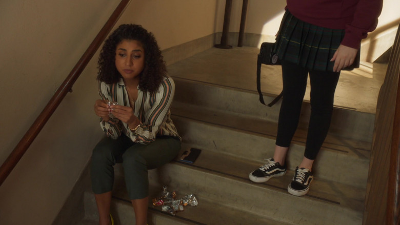 Vans Shoes of Kyla Kenedy as Orly Bremer in Mr. Mayor S01E03 Brentwood Trash (2021)