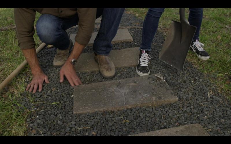 Vans Shoes of Violet Brinson as Stella in Walker S01E02 (1)
