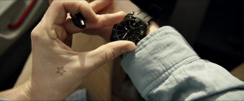 Victorinox Men's Watch of Alexander Dreymon as Jackson in Horizon Line Movie (1)