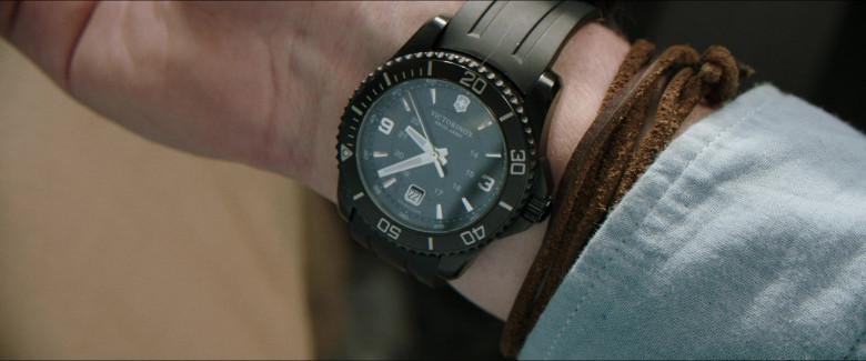 Victorinox Men's Watch of Alexander Dreymon as Jackson in Horizon Line Movie (2)