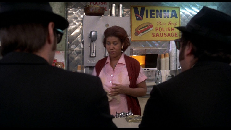 Vienna Beef Polish Sausage Sign in The Blues Brothers (1980)