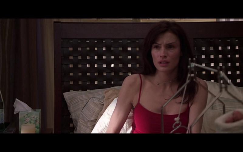 Vittel Water Bottle of Famke Janssen as Agatha 'Aggie' Conrad in Don't Say a Word (2001)