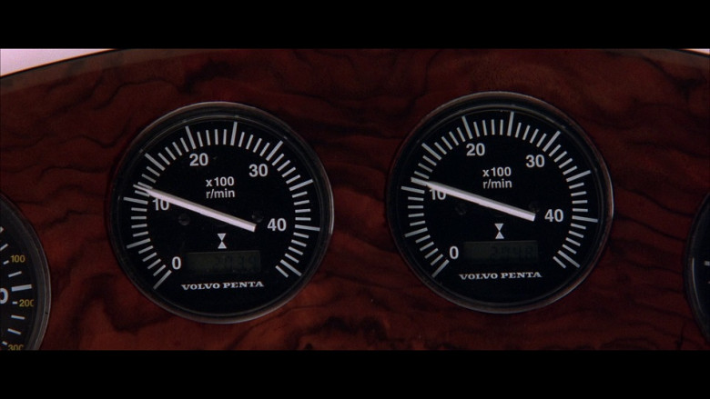 Volvo Penta Controls in The World Is Not Enough (1999)