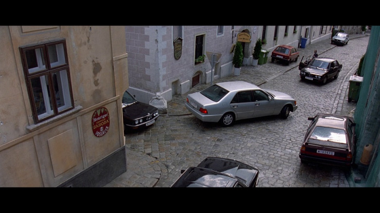 Vöslauer Water Sign in The Peacemaker (1997)