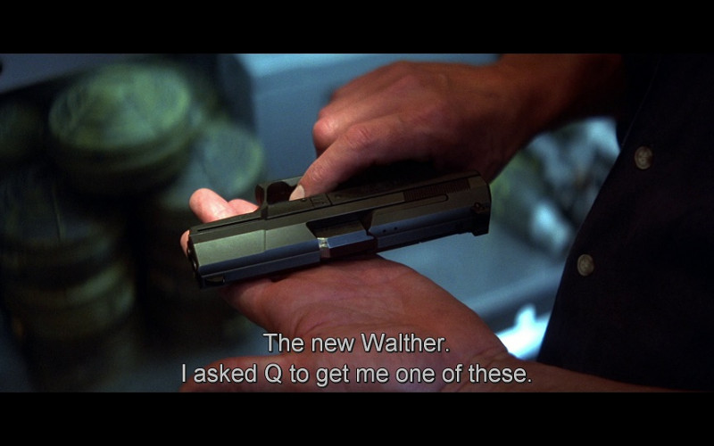 Walther P99 pistol in Tomorrow Never Dies (1997)