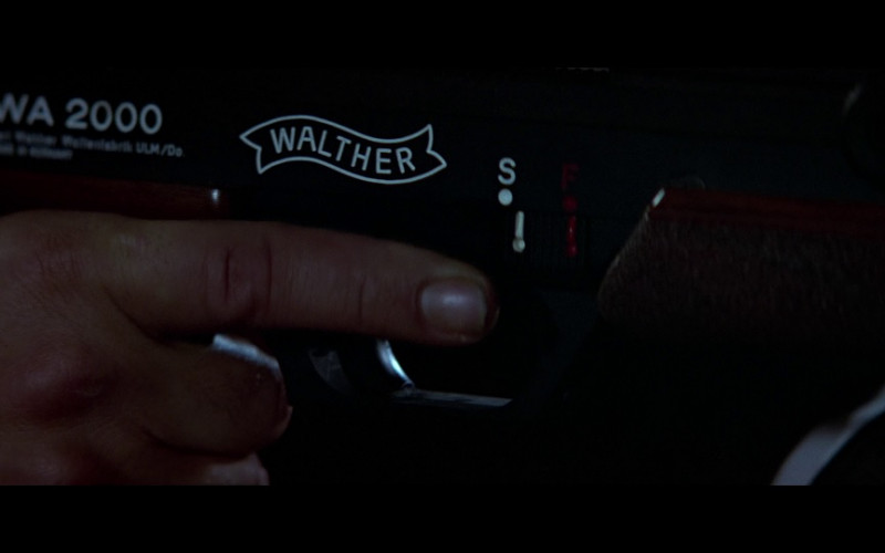 Walther WA 2000 sniper rifle in The Living Daylights (1987)