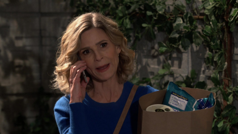 Wise Snacks Held by Kyra Sedgwick as Jean Raines in Call Your Mother S01E01 Pilot (2021)