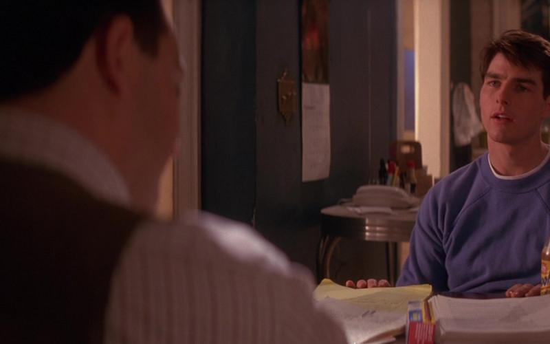Yoo-Hoo Chocolate Drink Enjoyed by Tom Cruise as Lieutenant Daniel Kaffee in A Few Good Men Movie (2)