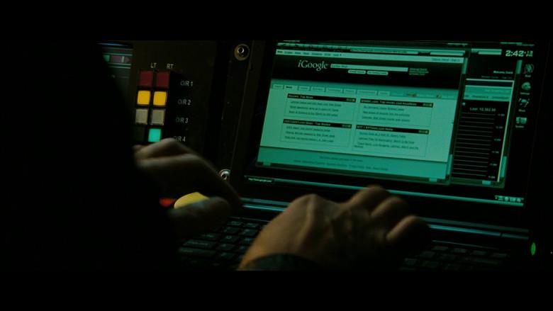 iGoogle WEB Portal in The Taking of Pelham 123 (2009)