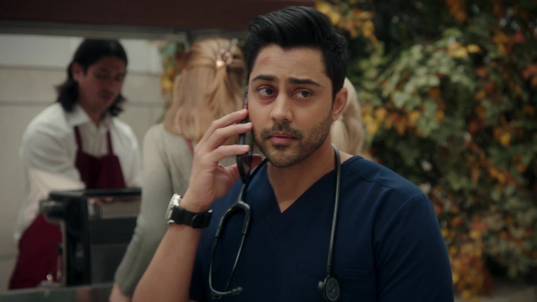 3M Littmann Stethoscope Used by Manish Dayal as Devon Pravesh in The Resident S04E04 (1)