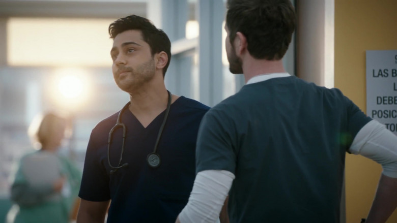 3M Littmann Stethoscope Used by Manish Dayal as Devon Pravesh in The Resident S04E04 (2)