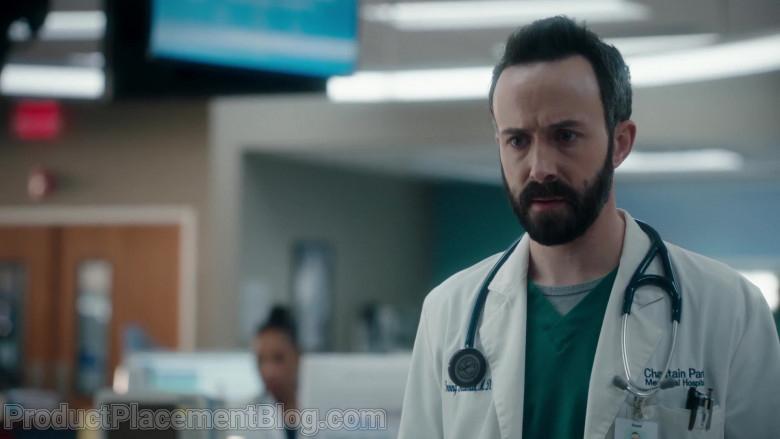 3M Littmann Stethoscope Used by Tasso Feldman as Irving Feldman in The Resident S04E06 Requiems & Revivals (2021)