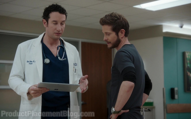 3M Littmann Stethoscope and Microsoft Surface Tablet Used by Actor in The Resident S04E06 Requiems & Revivals (2021)