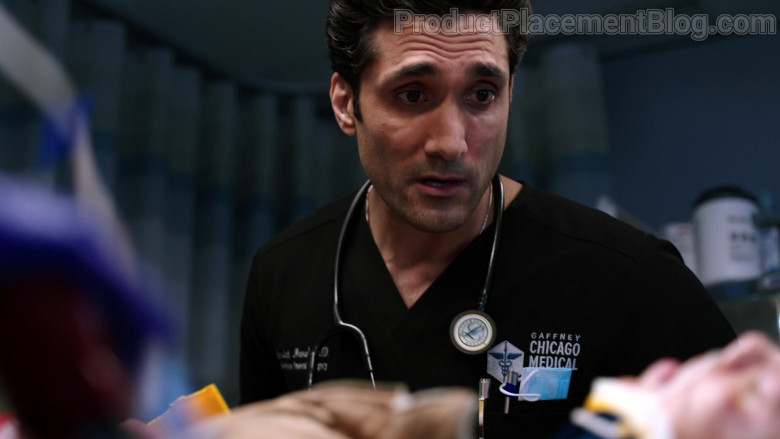 3M Littmann Stethoscope of Dominic Rains as Dr. Crockett Marcel in Chicago Med S06E06 (1)