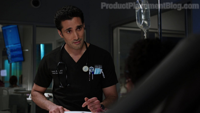 3M Littmann Stethoscope of Dominic Rains as Dr. Crockett Marcel in Chicago Med S06E06 (2)