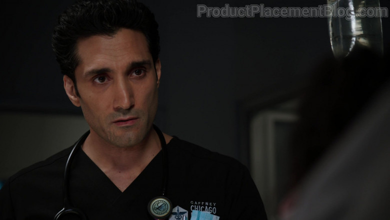 3M Littmann Stethoscope of Dominic Rains as Dr. Crockett Marcel in Chicago Med S06E06 (3)