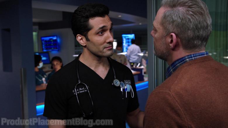 3M Littmann Stethoscope of Dominic Rains as Dr. Crockett Marcel in Chicago Med S06E07