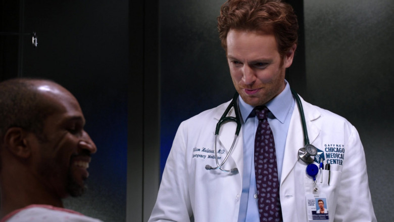 3M Littmann Stethoscope of Nick Gehlfuss as Dr. Will Halstead in Chicago Med S06E05 (1)
