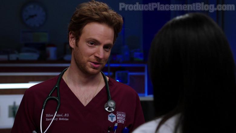 3M Littmann Stethoscope of Nick Gehlfuss as Dr. Will Halstead in Chicago Med S06E06 (1)