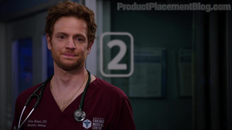 3M Littmann Stethoscope of Nick Gehlfuss as Dr. Will Halstead in Chicago Med S06E06 (2)
