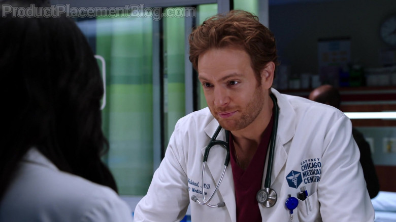 3M Littmann Stethoscope of Nick Gehlfuss as Dr. Will Halstead in Chicago Med S06E07 (1)