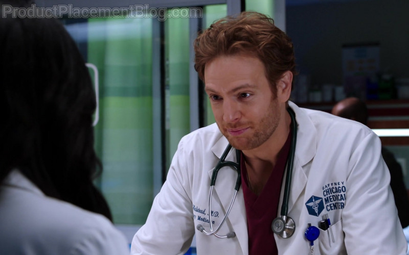 3M Littmann Stethoscope of Nick Gehlfuss as Dr. Will Halstead in Chicago Med S06E07 (1)