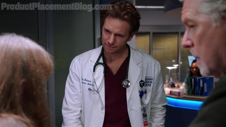 3M Littmann Stethoscope of Nick Gehlfuss as Dr. Will Halstead in Chicago Med S06E07 (2)