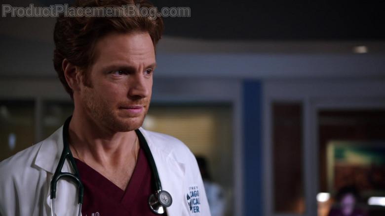 3M Littmann Stethoscope of Nick Gehlfuss as Dr. Will Halstead in Chicago Med S06E07 (3)