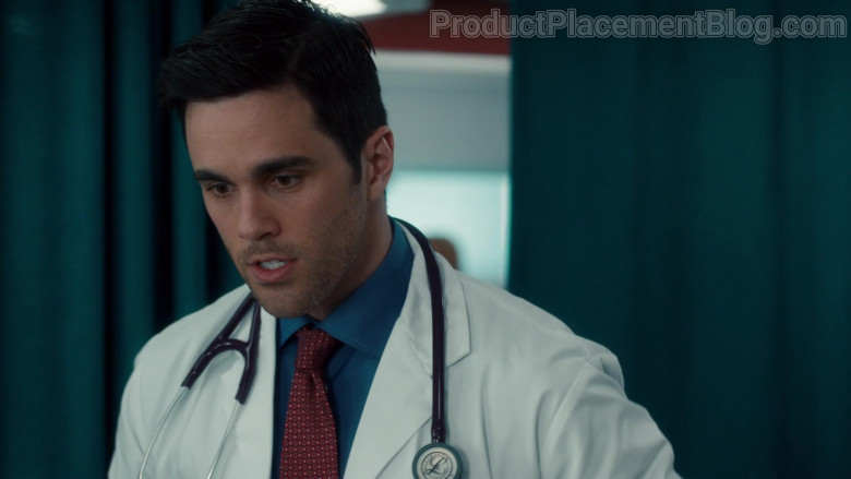 3M Littmann Stethoscope of Ryan-James Hatanaka as Dr. Evan Wallace in Nurses S01E09 Mirror Box (2020)
