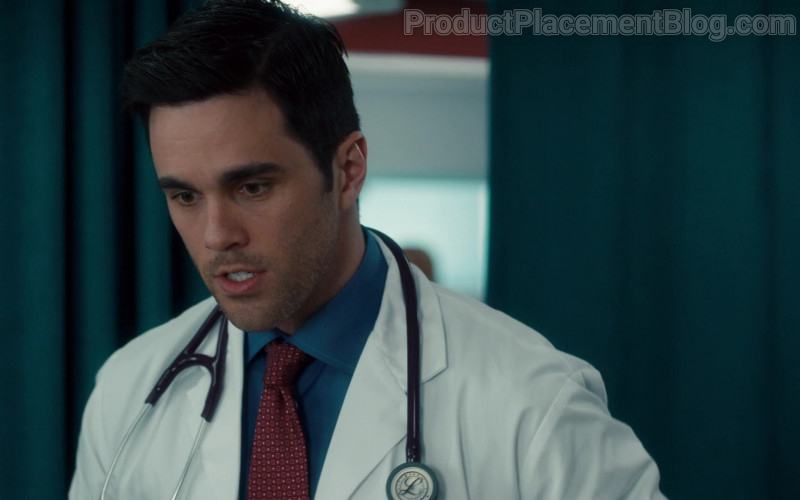 3M Littmann Stethoscope of Ryan-James Hatanaka as Dr. Evan Wallace in Nurses S01E09 Mirror Box (2020)