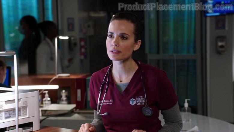 3M Littmann Stethoscope of Torrey DeVitto as Dr. Natalie Manning in Chicago Med S06E06 (4)